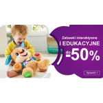 Smyk: do 50% rabatu na zabawki interaktywne i edukacyjne