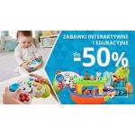 Smyk: do 50% zniżki na zabawki interaktywne i edukacyjne