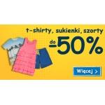 Smyk: do 50% zniżki na t-shirty, sukienki oraz szorty