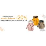 Smyk: 20% zniżki na wszystkie ubrania i buty, przy zakupach za min. 119zł
