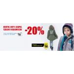Smyk: 20% rabatu na kurtki, buty, czapki, szaliki i rękawiczki