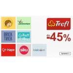 Smyk: do 45% rabatu na zabawki dla dzieci marki Trefl