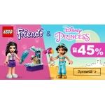 Smyk: do 45% rabatu na zabawki Lego Friends & Disney Princess
