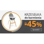 Smyk: do 45% zniżki na krzesełka do karmienia