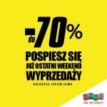 Smyk: ostatni weekend wyprzedaży do 70%