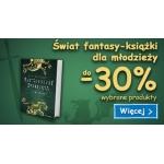 Smyk: do 30% zniżki na książki dla młodzieży z kategorii fantasy