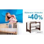 Smyk: do 40% zniżki na materace i łóżeczka dziecięce