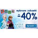 Smyk: wybrane zabawki do 40% zniżki