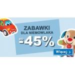 Smyk: do 45% rabatu na zabawki dla niemowlaka