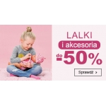 Smyk: do 50% rabatu na lalki i akcesoria
