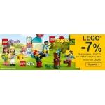 Smyk: 7% rabatu na klocki Lego