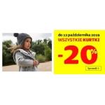 Smyk: 20% rabatu na kurtki i płaszcze dla dzieci