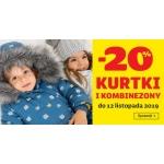 Smyk: 20% rabatu na kurtki, płaszcze i kombinezony dziecięce