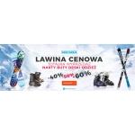 Snow Shop: wyprzedaż do 60% rabatu na odzież zimową, narty, deski snowboardowe