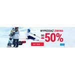 Snow Shop: wyprzedaż do 50% rabatu na odzież i sprzęt do sportów zimowych