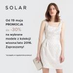 Solar: do 30% zniżki na kolekcję wiosna lato