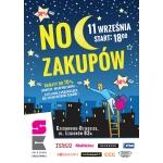 Noc Zakupów w centrum Stara Kablownia w Czechowicach Dziedzicach 11 września 2015