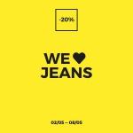 Stradivarius: 20% zniżki na dżinsy