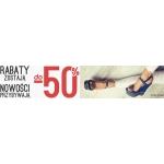 Stylowe Buty: do 50% rabatu na obuwie damskie