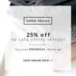 Stylowe Buty: 25% promocja na całą ofertę