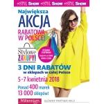 Weekend Zniżek z magazynami Twój Styl i Show - Stylowe Zakupy w całej Polsce 5-7 kwietnia 2018