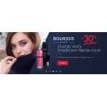 Super-Pharm: 30% zniżki na kosmetyki do makijażu ust i oczu marki Bourjois Paris