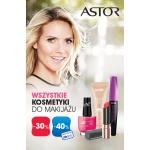Super-Pharm: promocja do 40% zniżki na wszystkie kosmetyki do makijażu marki Astor