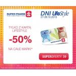 Super-Pharm: dni LifeStyle 50% zniżki