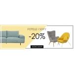 SuperWnetrze.pl: 20% rabatu na fotele i sofy