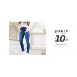 Szachownica: 10 zł rabatu na wybrane Jeansy damskie