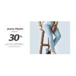 Szachownica: 30% zniżki na Jeansy męskie
