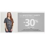 Szachownica: 30% zniżki na drugą sztukę t-shirtów damskich, męskich oraz dziecięcych