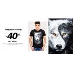 Szachownica: 40% rabatu na drugi męski t-shirt