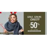 Szachownica: 50% zniżki na drugą sztukę szali, szalików i chust