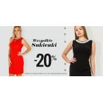 Szachownica: 20% zniżki na wszystkie sukienki