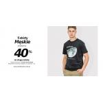 Szachownica: 40% zniżki na drugi męski t-shirt