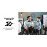 Szachownica: 30% rabatu na koszule męskie i chłopięce