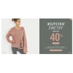 Szachownica: 40% rabatu na drugą sztukę swetra