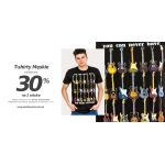 Szachownica: 30% zniżki na drugi męski t-shirt