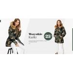 Szachownica: 25% rabatu na wszystkie kurtki damskie, męskie i dziecięce