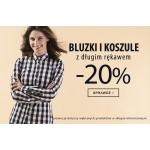 TXM: 20% zniżki na bluzki i koszule z długim rękawem