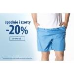 TXM24: 20% rabatu na spodnie i szorty