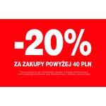 TXM24: 20% rabatu za zakupy powyżej 40 zł