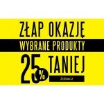 TXM: 25% rabatu na wybrane produkty