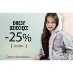 TXM: 25% zniżki na dresy dziecięce