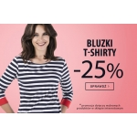TXM: 25% rabatu na wybrane bluzki i t-shirty