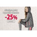 TXM24: 25% zniżki na dziecięce getry i spodnie dresowe