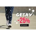 TXM24: 25% rabatu na getry dla dziewczynek