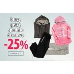 TXM24: 25% zniżki na bluzy, getry, spodnie dresowe