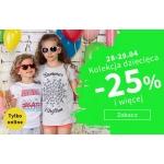 TXM: 25% rabatu na kolekcję dziecięcą